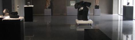 太極石雕於花蓮石雕博物館展出