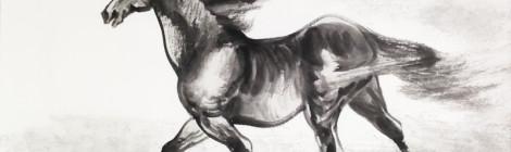 十八駿馬國畫