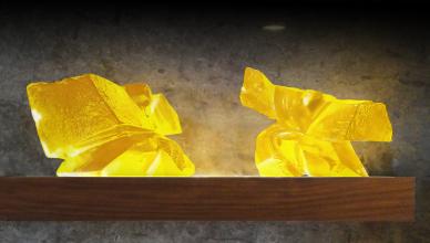 黃金琉璃太極(大)LIULI TAICHI in Golden Color