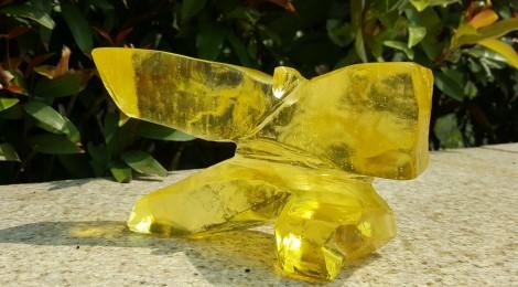 黃金 琉璃太極 (小)