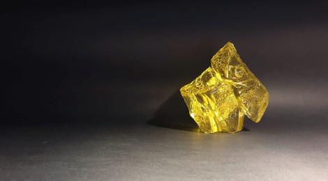 黃金琉璃太極(小)LIULI TAICHI in Golden Color