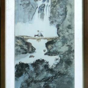 許陵蘭-千岩飛流瀑共爭